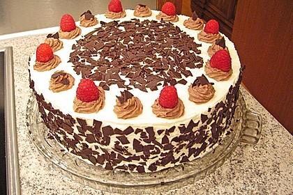Himbeer - Schachbrett - Torte 12