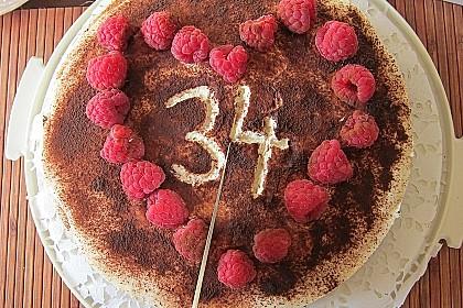 Himbeer - Schachbrett - Torte 87