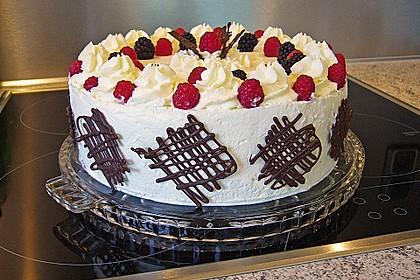 Himbeer - Schachbrett - Torte 7