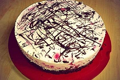 Himbeer - Schachbrett - Torte 24