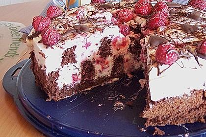 Himbeer - Schachbrett - Torte 51