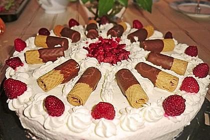 Himbeer - Schachbrett - Torte 91