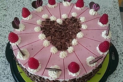 Himbeer - Schachbrett - Torte 9