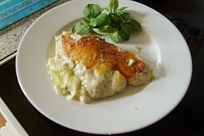 Kartoffelauflauf mit Lachs 6