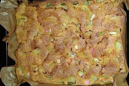 Oma Bärbels Rhabarberkuchen 7