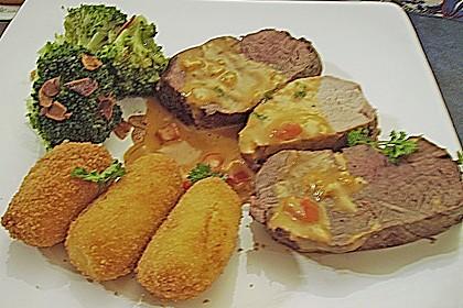 Filetplatte mit Tomaten - Cognac - Rahm 1