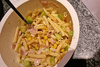 Diät - Nudelsalat 7