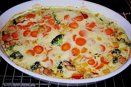 Bunter Gemüseauflauf 44