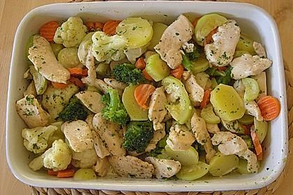 Bunter Gemüseauflauf 27