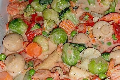 Bunter Gemüseauflauf 15