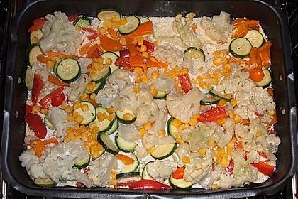 Bunter Gemüseauflauf 31