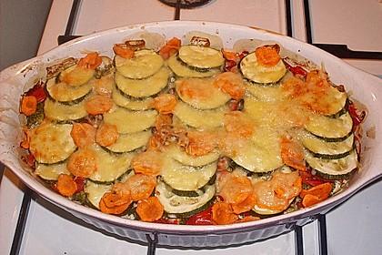 Bunter Gemüseauflauf 10