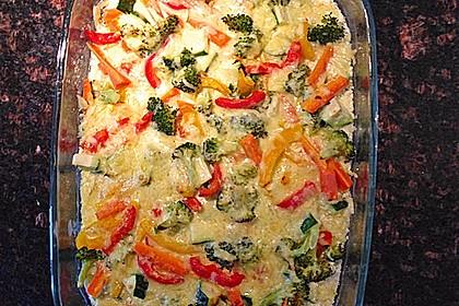 Bunter Gemüseauflauf 32