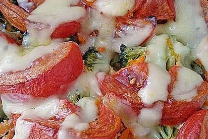 Bunter Gemüseauflauf 7