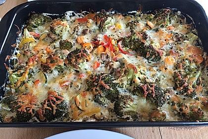 Bunter Gemüseauflauf 5