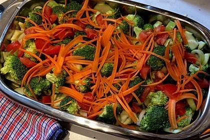 Bunter Gemüseauflauf 12