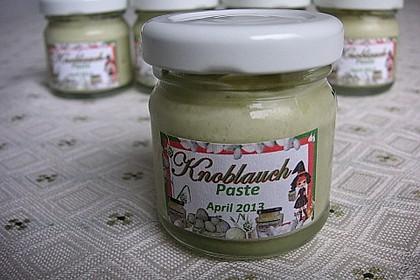 Knoblauch - Paste scharf 1