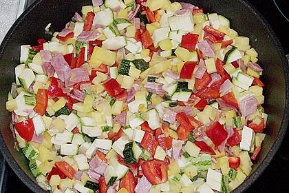 Zucchini - Paprika - Kartoffel - Auflauf 10