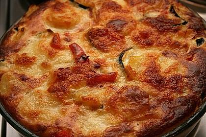 Zucchini - Paprika - Kartoffel - Auflauf 1