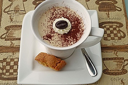 Cappuccino-Mousse mit Mascarpone 4