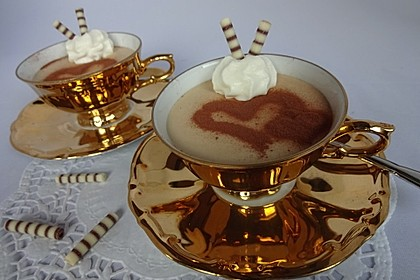 Cappuccino-Mousse mit Mascarpone 3