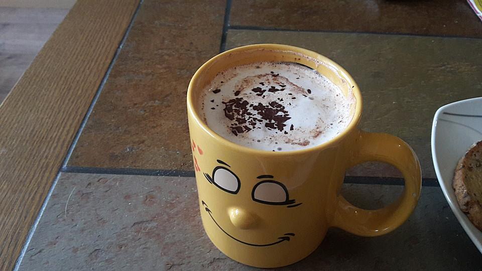 nutella kaffee rezept mit bild von claudi77. Black Bedroom Furniture Sets. Home Design Ideas