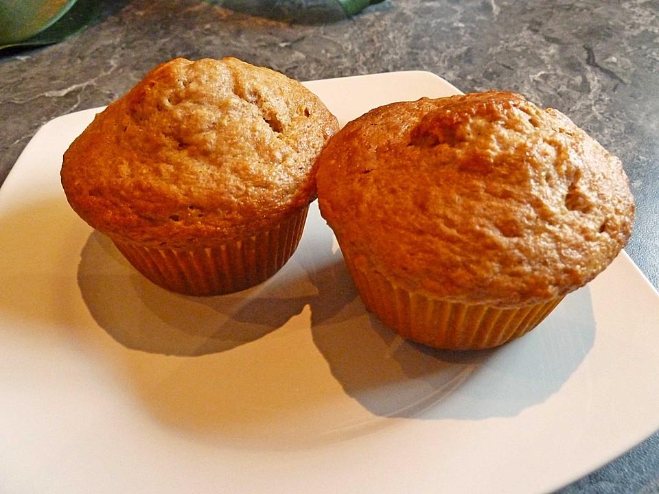 Bananen Joghurt Muffins : joghurt bananen muffins vollkorn rezept mit bild ~ Lizthompson.info Haus und Dekorationen