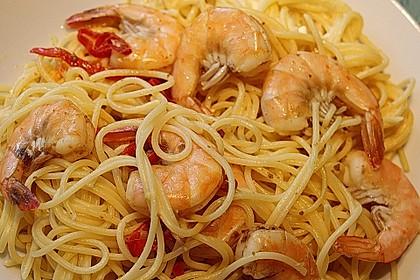 Spaghetti Scampi 12