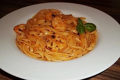 Spaghetti Scampi 5