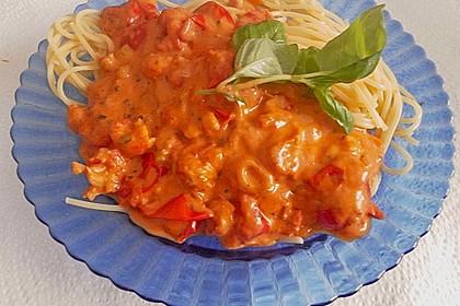 Spaghetti Scampi 10