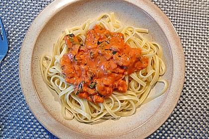 Spaghetti Scampi 7