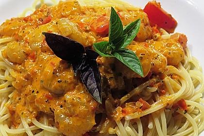 Spaghetti Scampi 8