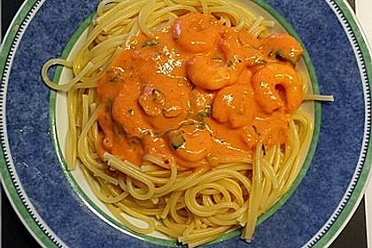 Spaghetti Scampi 6