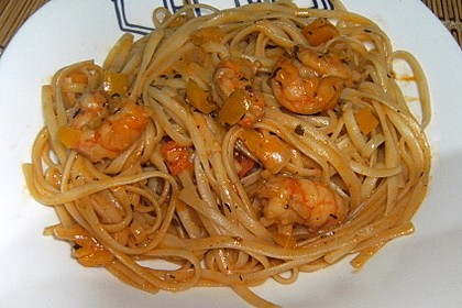 Spaghetti Scampi 13