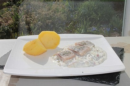 Matjes - Filet in Joghurt - Dill - Creme 3