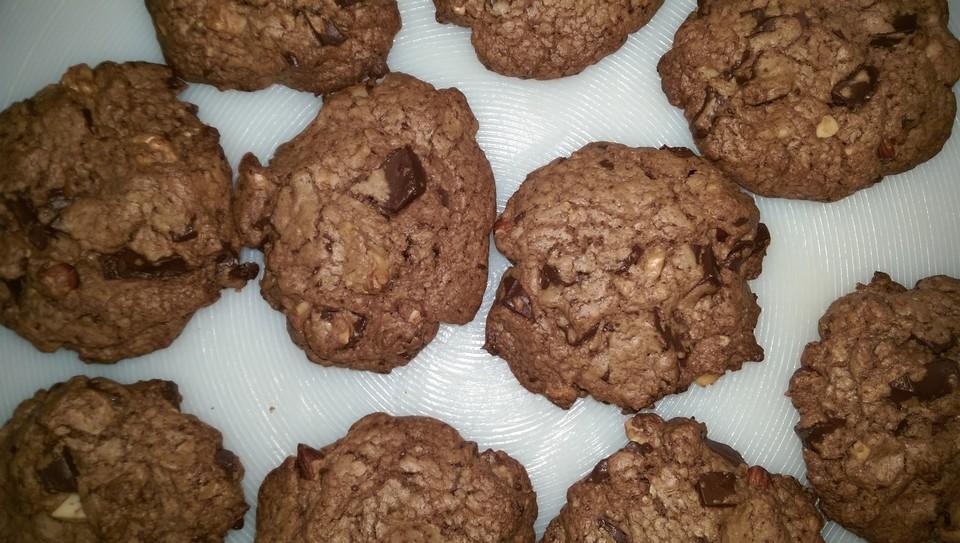 american chocolate cookies von steffi1912. Black Bedroom Furniture Sets. Home Design Ideas