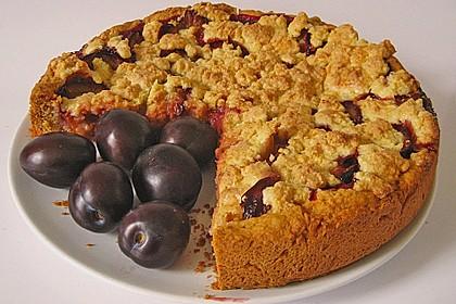 Pflaumen - Streusel - Kuchen 5