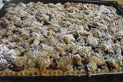Pflaumen - Streusel - Kuchen 8