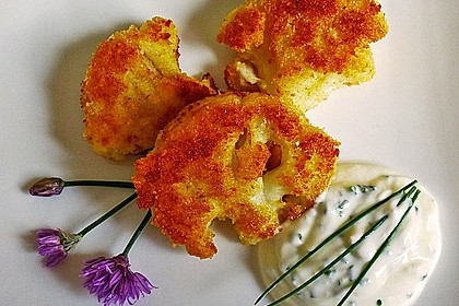Blumenkohl - Schnitzel 1