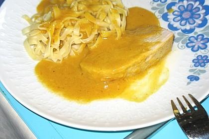 Currysahne - Fleisch 2