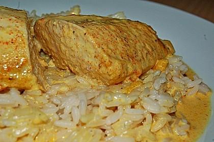Currysahne - Fleisch 1