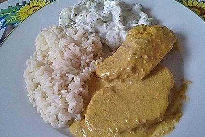 Currysahne - Fleisch 4