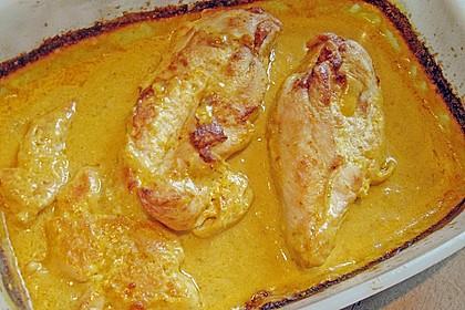 Currysahne - Fleisch 3
