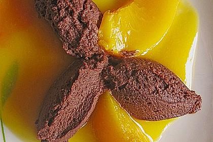 Schnelle  Mousse au Chocolat 5