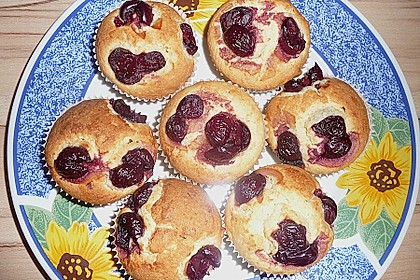 Kirsch - Marzipan - Muffins 2