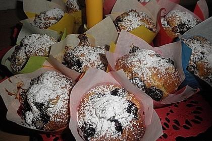 Kirsch - Marzipan - Muffins