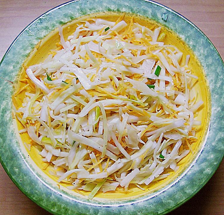 rezept backofen krautsalat griechisch