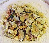 Zucchini - Zitrone Nudeln (Bild)
