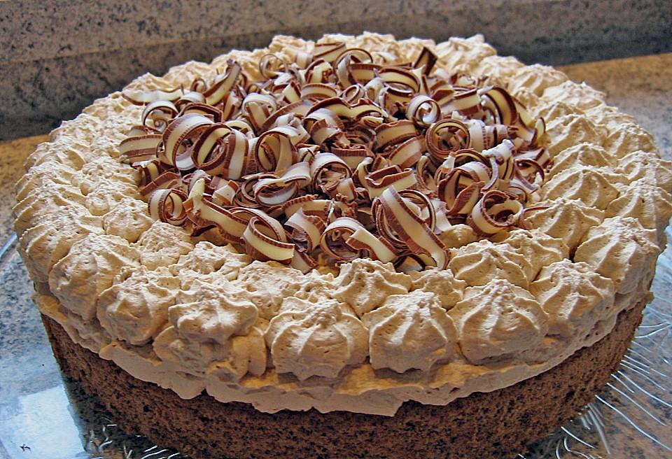 Schnelle cappuccino torte