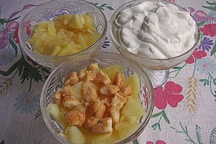 Apfeldessert mit Mascarponecreme 12